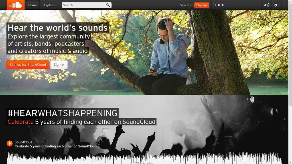 Обзор soundcloud