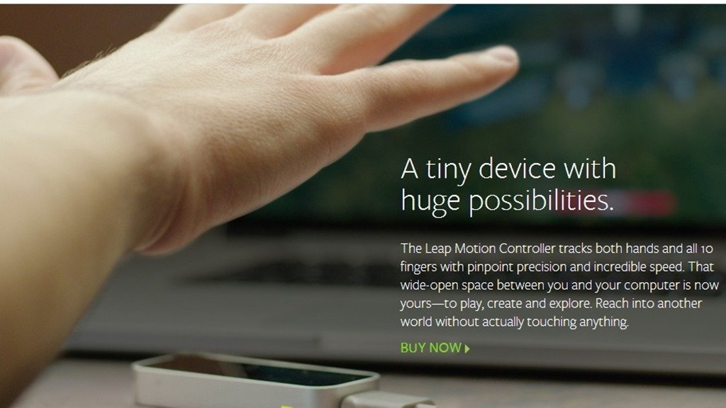 Контроллер leap motion