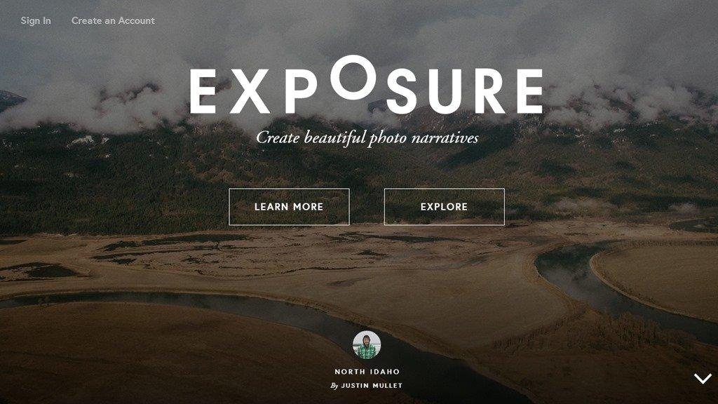 Обзор сайта Exposure