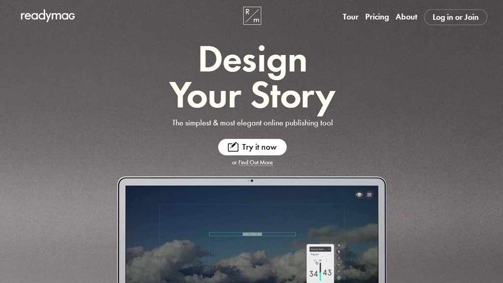 Обзор сайта Readymag