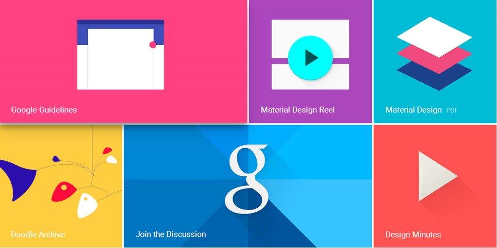 Material design: новая парадигма Google