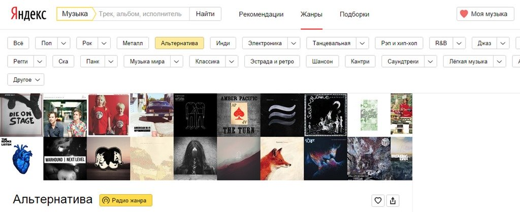 Навигатор жанров. Яндекс музыка