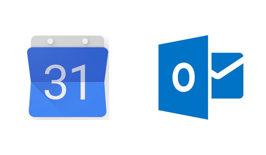 Синхронизируем Google calendar Outlook calendar