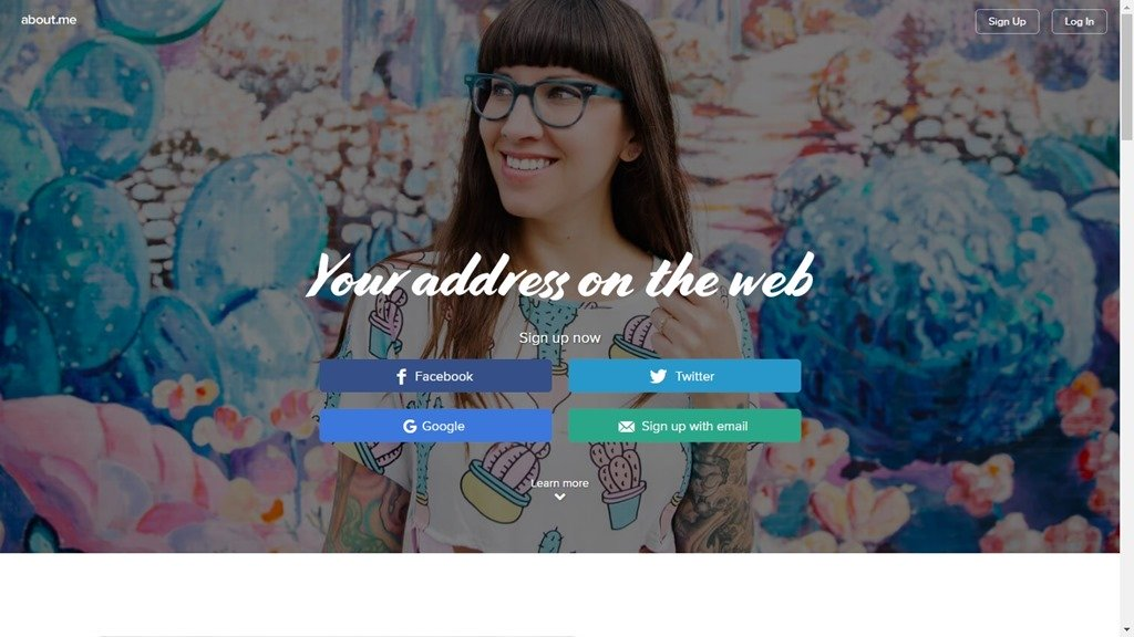 Обзор сервиса онлайн-визиток about.me