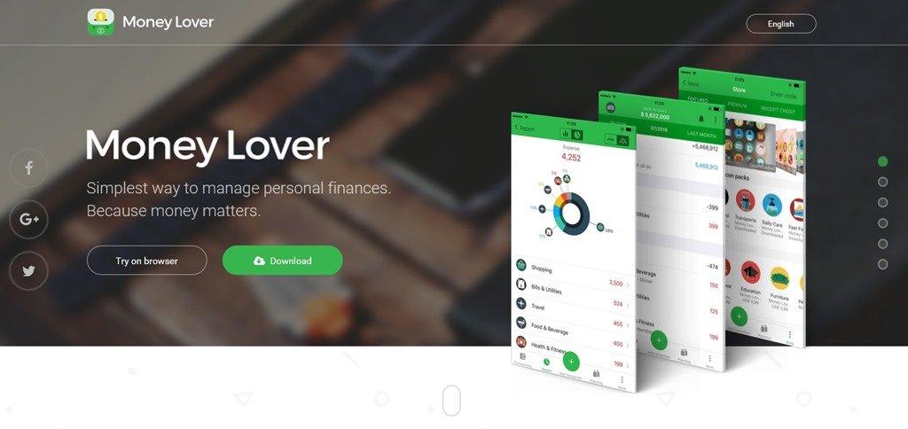 Moneylover. Обзор приложения