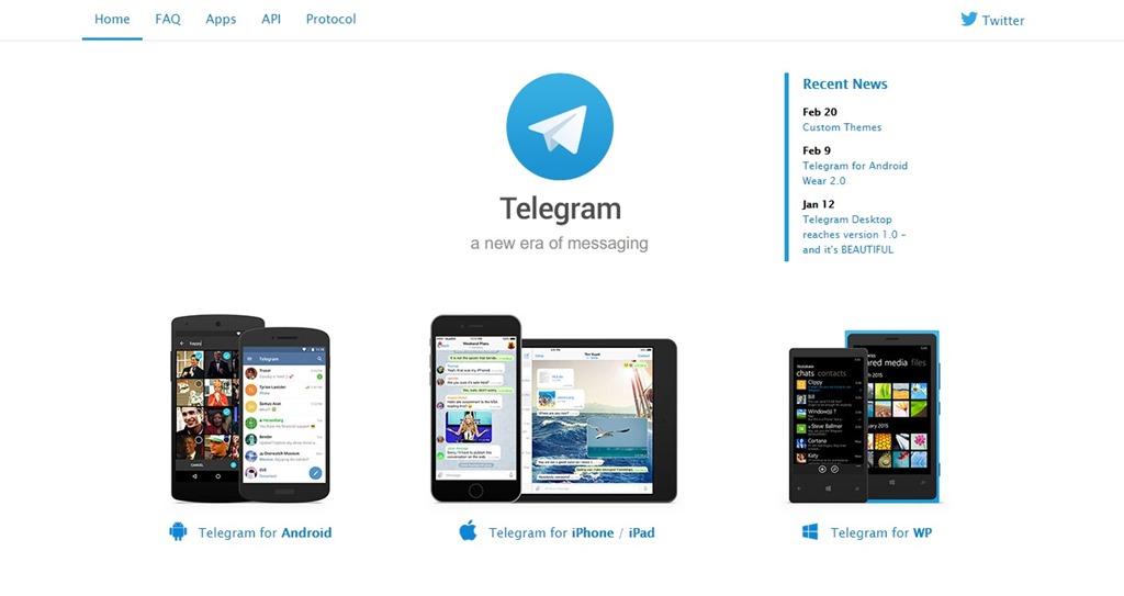 Обзор мессенджера Telegram