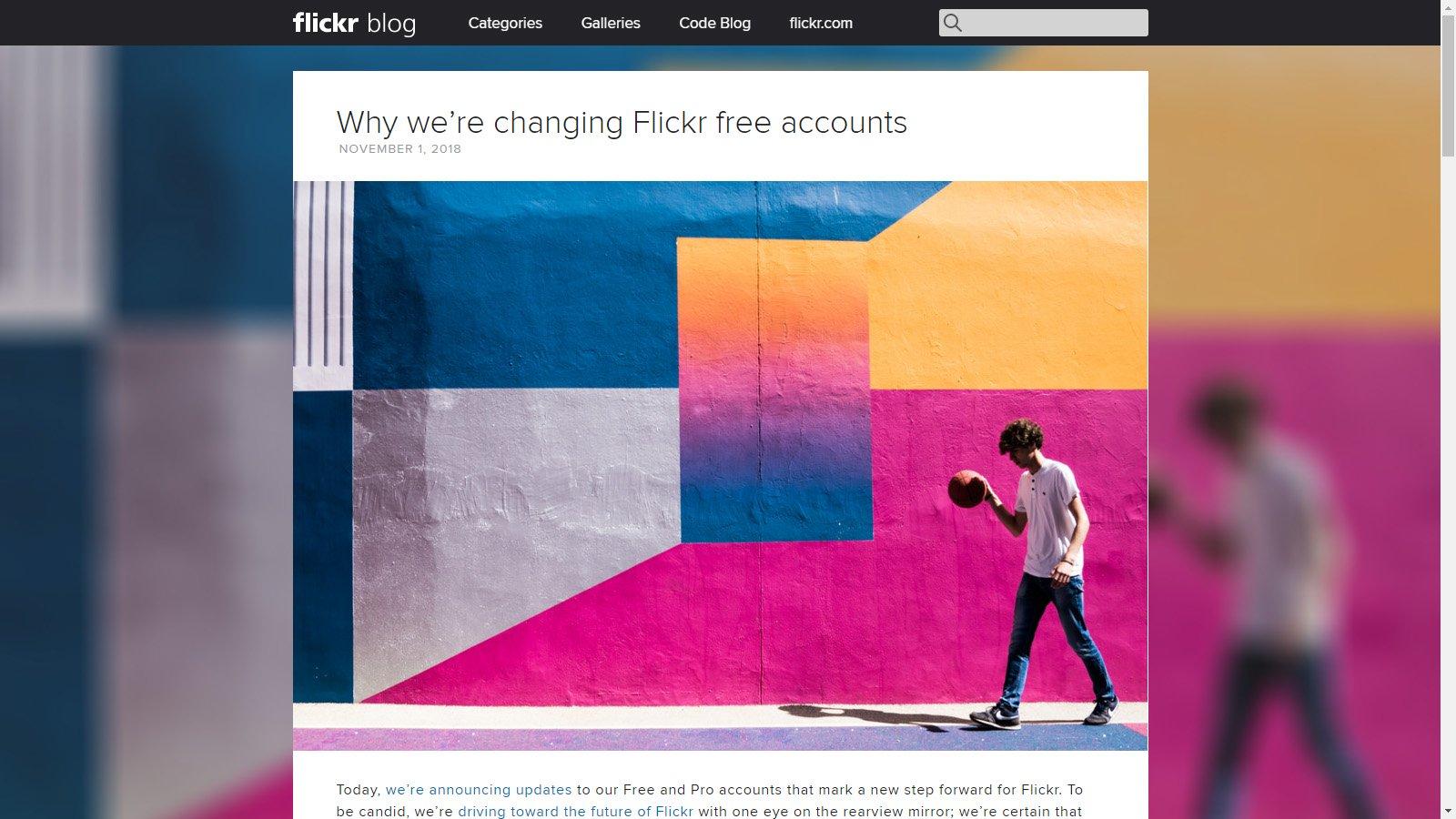 Flickr переходи на систему подписки